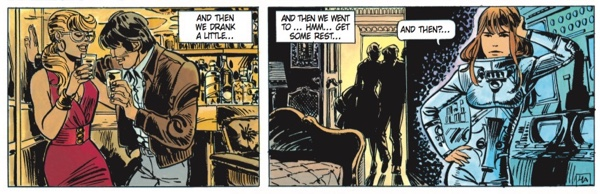Valerian gets caught up in his case, sleeps with another woman, and Laureline isn't pleased.