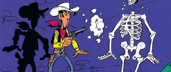 lucky luke the cursed ranch cover detail