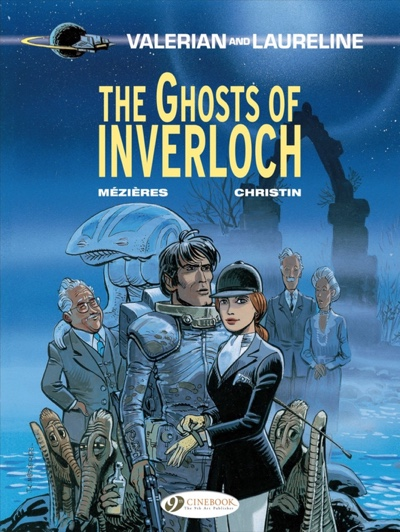 Valerian and Laureline v11: Ghosts of Interloch cover