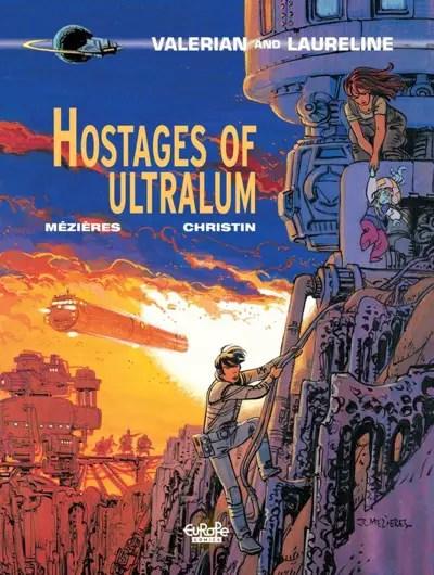 Valerian t16 Hostages of Ultralum cover
