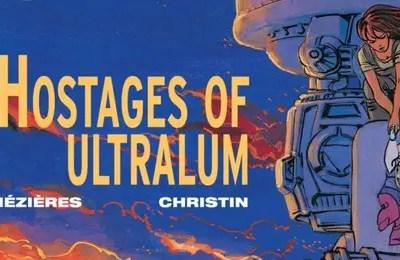 Valerian t16 Hostages of Ultralum cover detail
