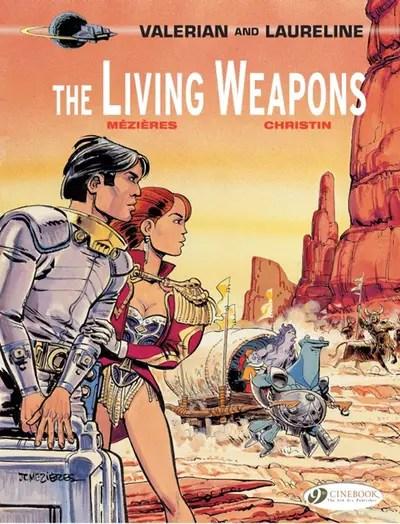 Valerian v15 The Living Weapons cover