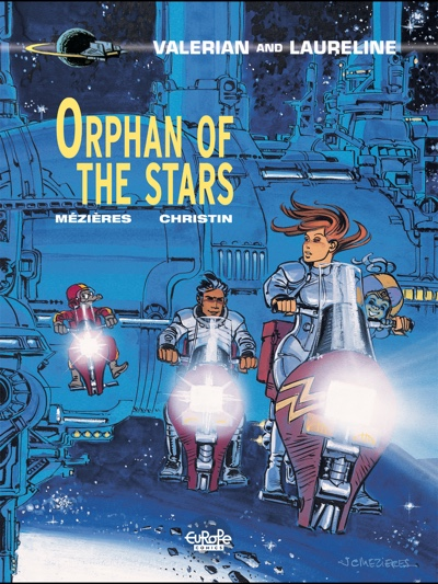 "Valerian v17 ""Orphan of the Stars"" cover"