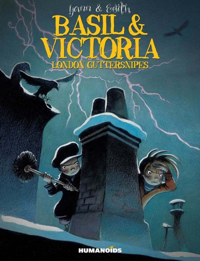 Basil and Victoria London Guttersnipes cover from Humanoids