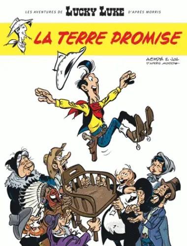 Lucky Luke La Terre Promise cover