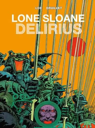 Lone Sloane Delirius Cover from Titan Comics