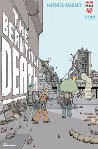The Beautiful Death cover by Brandon Graham