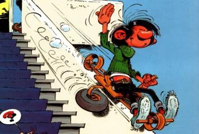 Gomer Goof v1 cover header by Franquin