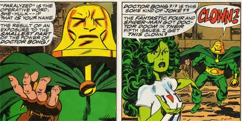She-Hulk issue featuring Doctor Bong by John Byrne