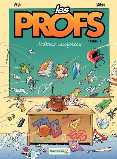 Les Profs v1 cover