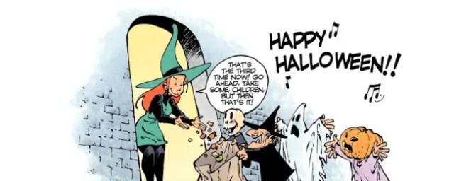 melusine at halloween