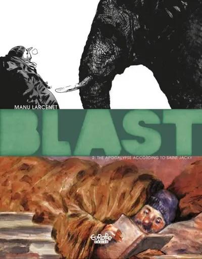 Blast v2 by Manu Larcenet cover