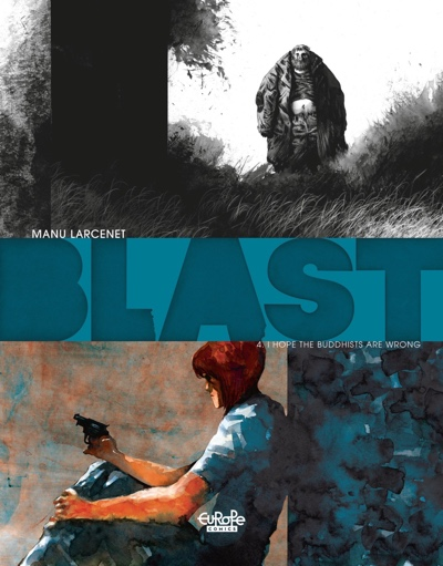 Blast v4 by Manu Larcenet cover