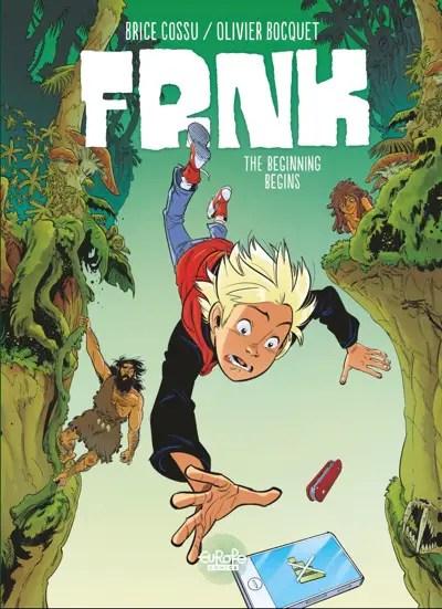 Frank vol 1 cover image by Brice Cossu