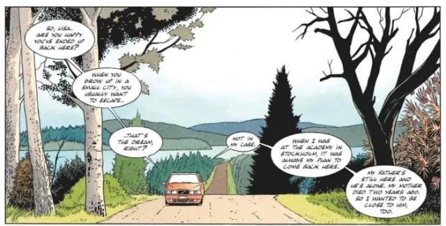 Motorcity loves the Swedish landscapes