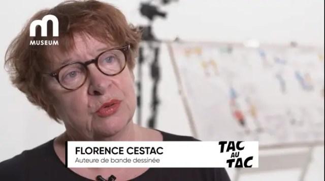 Florence Cestac on Tac Au Tac