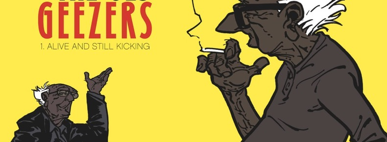 The Old Geezers v1 cover detail