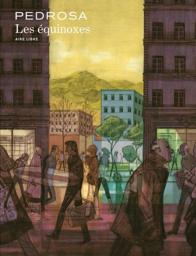 Cyril Pedrosa's Les Equinoxes cover art