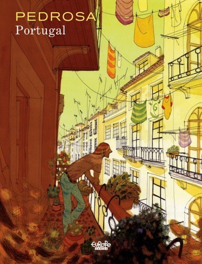 Portugal cover by Cyril Pedrosa