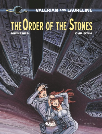 Valerian v20 Order of the Stones cover by Jean Claude Mezieres and E. Tranle
