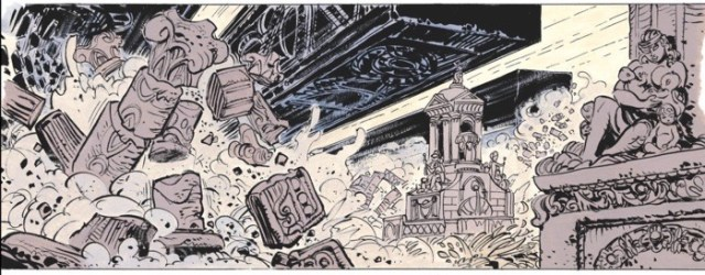 The Wolochs wage war over memorable planets of Valerian's past