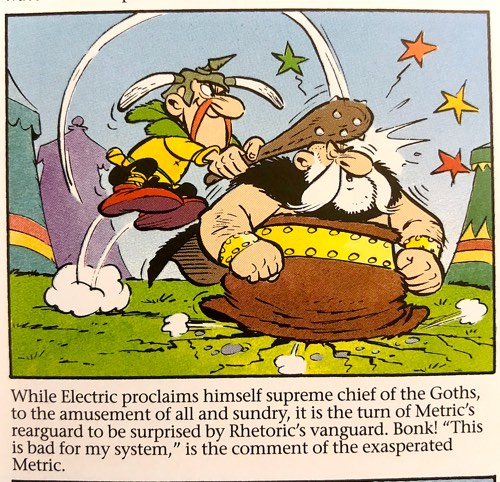 A description of the Asterixian Wars