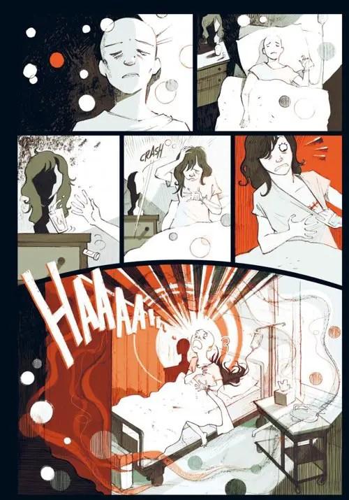 comics Multiple breast