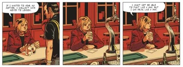 Maggy Garrisson at the bar