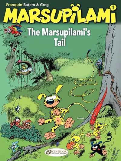 """Marsupilami v1 """"Marsupilami's Tail"""" cover by Batem and Leonardo"""