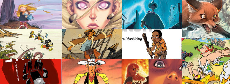 Runners up to my Top Ten of 2017 list, including Asterix, Lucky Luke, Harmony, and more