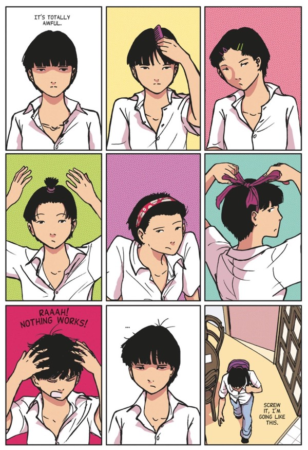 Slice of life stories can even have a hair montage