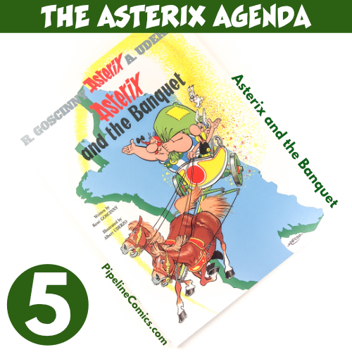 Asterix and the Banquet v5 review in the Asterix Agenda
