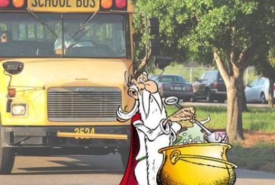 Getafix has a Bus Factor of 1