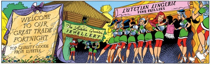 Women like to shop. That's what Albert Uderzo taught me.