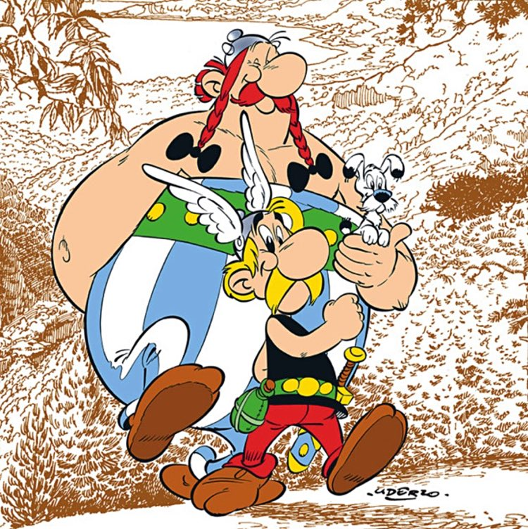 Asterix's latest quest: To help Scottish primary pupils learn French