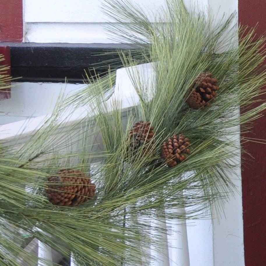 Long Needle Pine Garland W Cones 6 Piper Classics