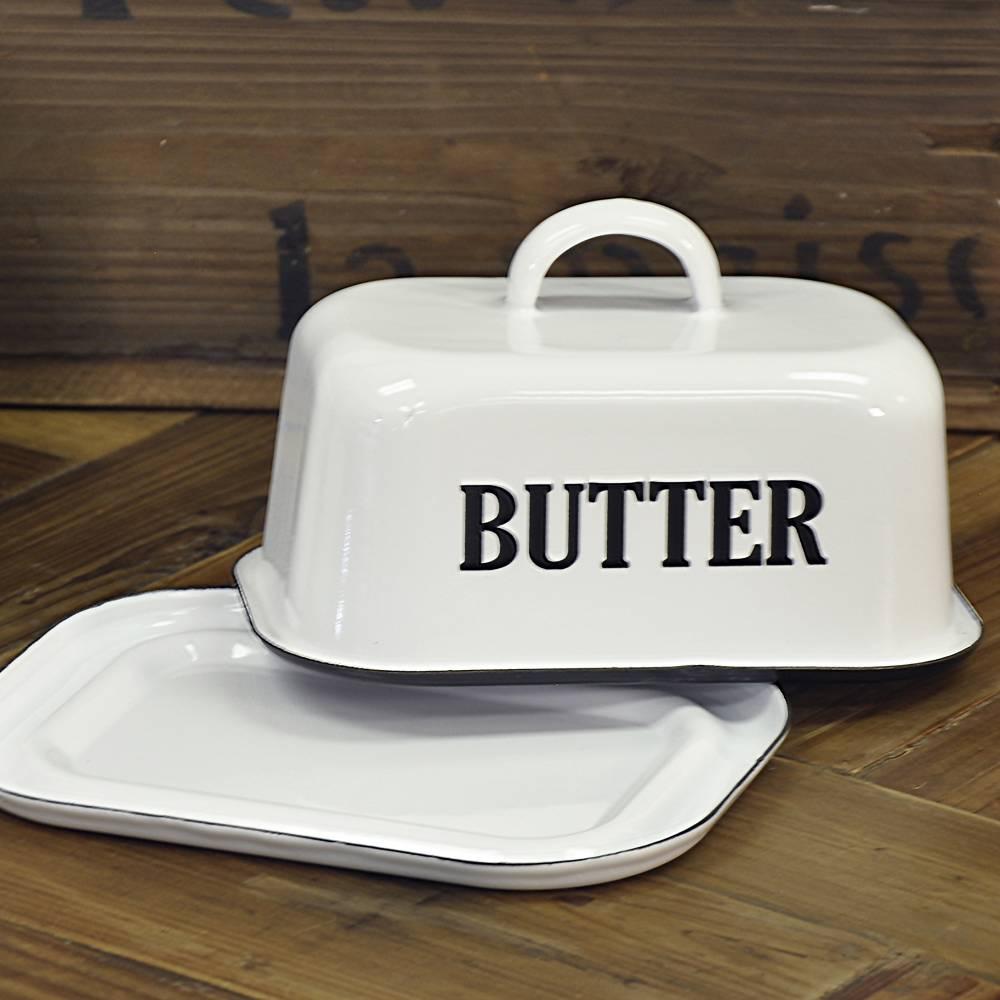 Enamelware Butter Dish Piper Classics