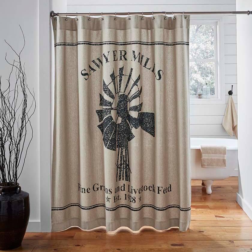 Sawyer Mill Shower Curtain Piper Classics