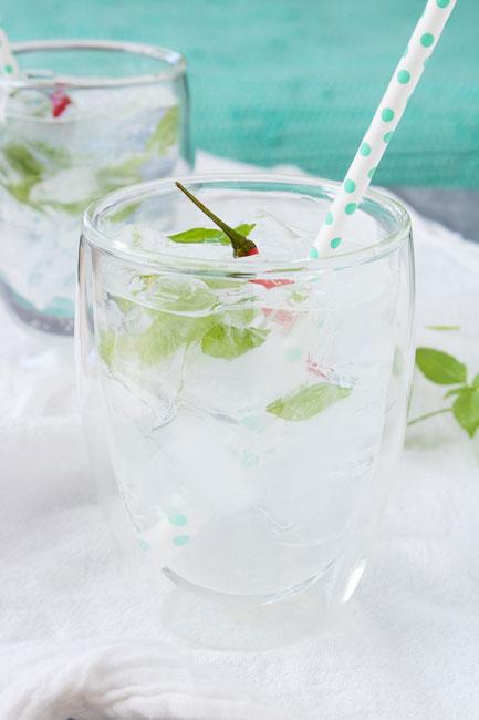 Thai Inspired Vodka Cocktail