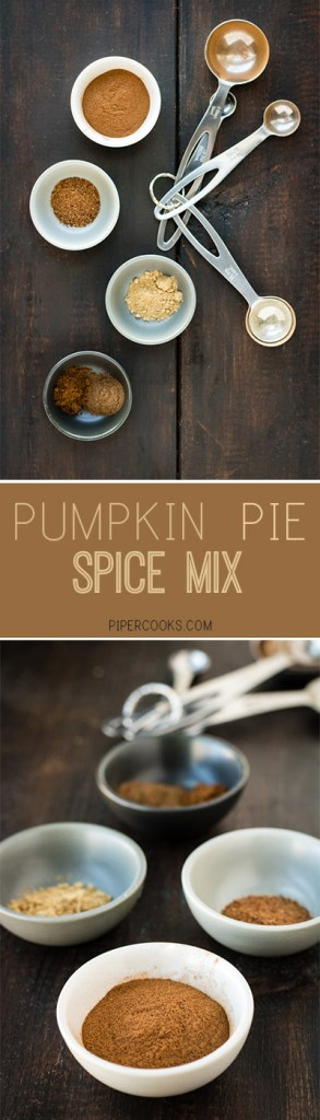 DIY easy pumpkin pie spice mix PiperCooks