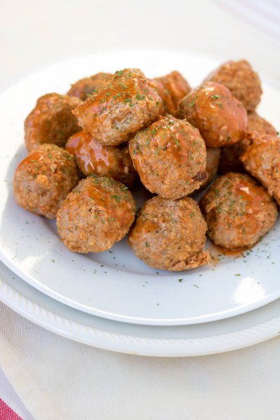 Buffalo Turkey Meatballs | PiperCooks.com