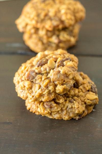 Oatmeal Raisin Cookies Pipercooks.com