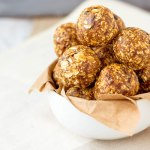 Peanut Butter Chocolate Protein Balls - PiperCooks