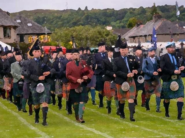 Argyllshire Gathering takes MacGregor Memorial online