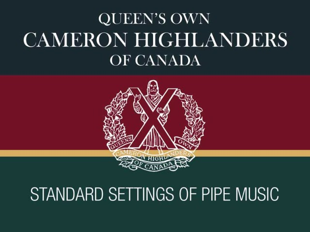 Hal Senyk reviews Queen's Own Cameron Highlanders of Canada collection
