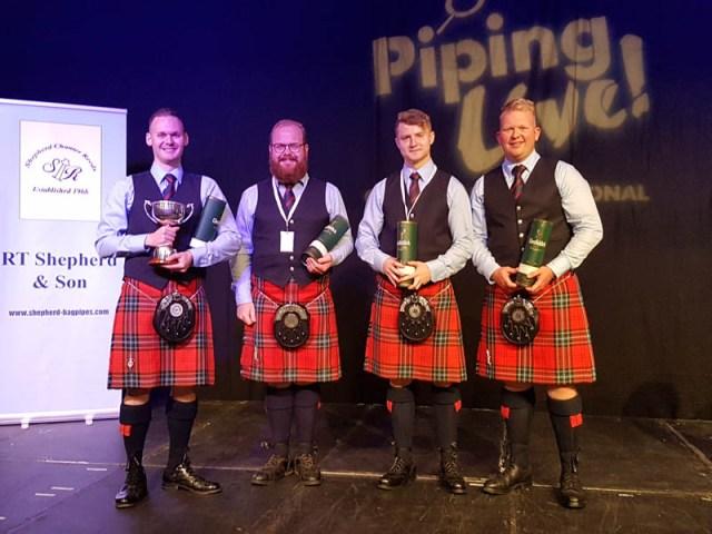 2019 International Quartet Champions: Field Marshal Montgomery