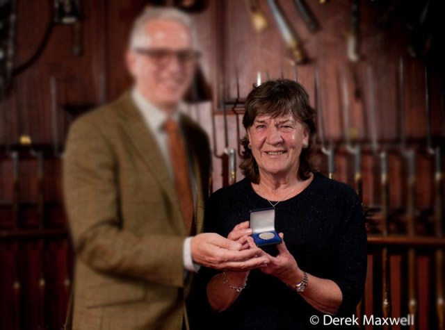 The presentation of the 2019 Balvenie Medal to Anne Spalding