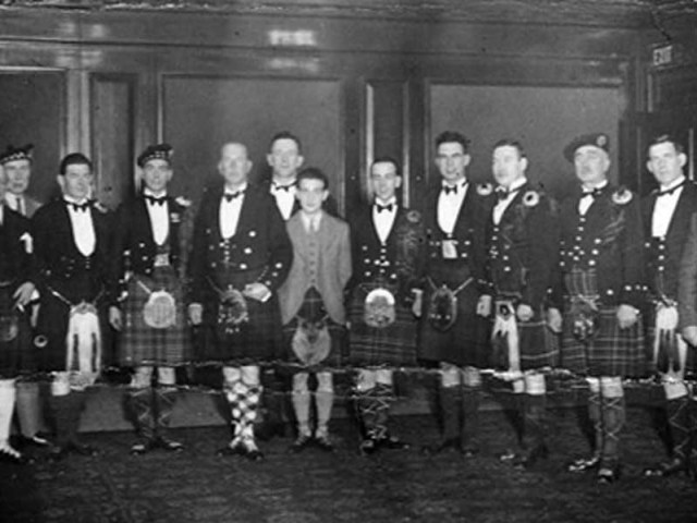 Scottish Pipers Association celebrates a hundred January 10