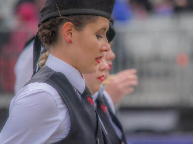 The status of females in piping and drumming in 2020