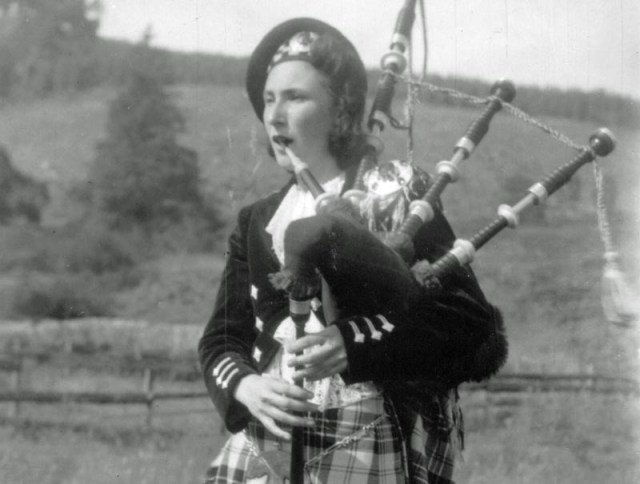 From the archives: Miss Edith MacPherson – a piping pioneer